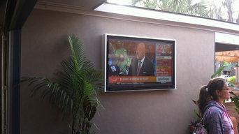 Custom Built Outdoor TV Enclosures