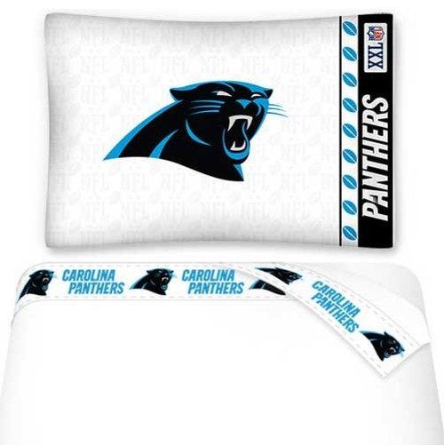 Sports Coverage   NFL Carolina Panthers Bed Sheets Set Football Bedding    Kids Bedding