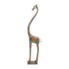 Tall giraffe home decor