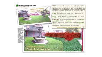 Progetto per giardino residenziale a Milano