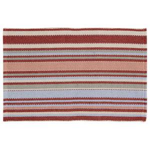 Handwoven Multicolour Toscana Cotton Rug, 60x90 Cm