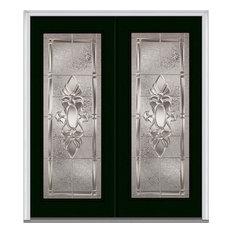 """Heirloom Master Full Lite Fiberglass Double Door 66""""x81.75"""" LH In-Swing"""