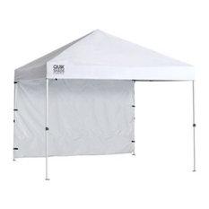 Shelter Logic 10'x10' Quik Shade C100 Straight Leg Canopy, White