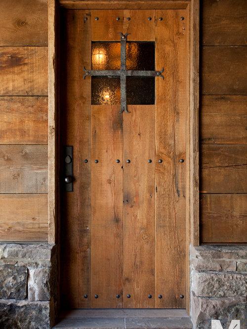 14 - Park City, Utah Residence - Front Doors