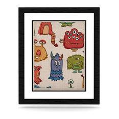 "Brienne Jepkema ""Little Monsters"" KESS Natural Canvas"