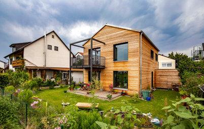 Rustikal, modern, ökologisch: Ein Holzhaus in Oberbayern