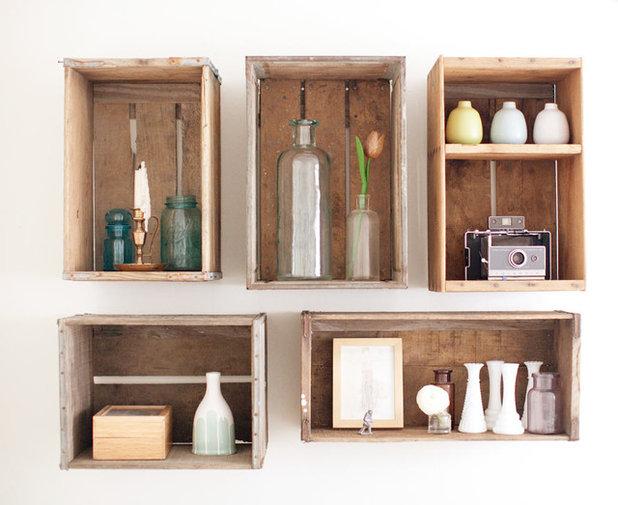Idée récup : comment recycler des caisses en bois ?