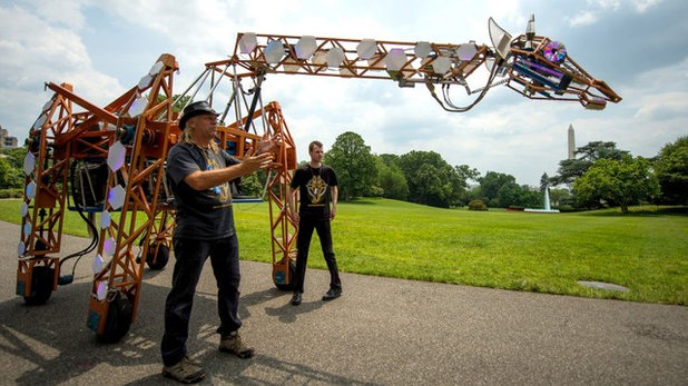 Maker Faire: A Futuristic County Fair