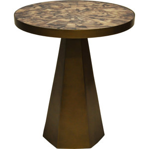 Worlds Away Woodrow Side Table Transitional Side Tables And End Tables By Matthew Izzo Houzz