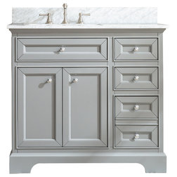 Transitional Bathroom Vanities And Sink Consoles by Ari Kitchen & Bath