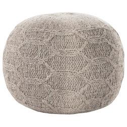 Scandinavian Floor Pillows And Poufs by GDFStudio
