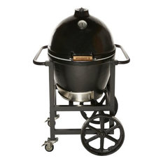 Golden's Cast Iron 13546 Cooker With Handle Cart, 20.5""