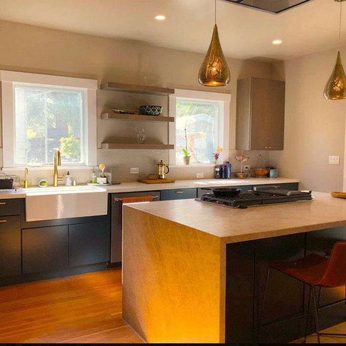Trestle Glen Contemporary Kitchen Remodel