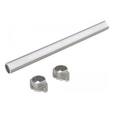 "Sempria LED Lighted Closet Rod, Satin Nickel, 18"", 3000 Kelvin"