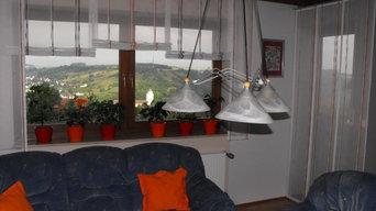 Fensterdekorationen: Blumenfenster