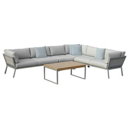 Contemporary Outdoor Lounge Sets by OVE Decors