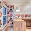 Flower Power for a Toronto Kitchen