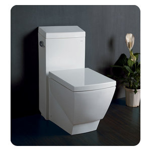 Marvelous Fresca Apus One Piece Square Toilet With Soft Close Seat Andrewgaddart Wooden Chair Designs For Living Room Andrewgaddartcom