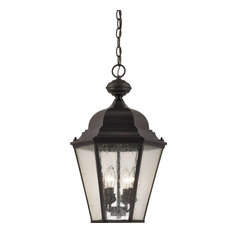 Cornerstone Cotswold 4 Light Exterior Hanging Lamp, Oil Rubbed Bronze