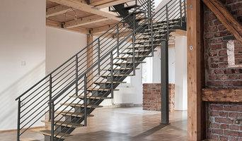 ErectaStep's Pre-Fabricated Metal Stairs