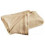 Luxor Linens - Le Meurice Luxury Blanket, Camel, King - Product Details