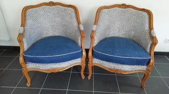 Fauteuils bergères Louis XV