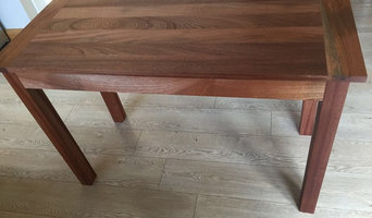Sapele hardwood table