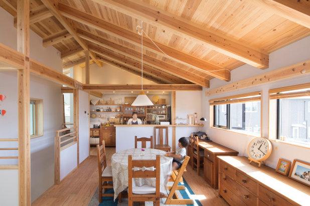 コンテンポラリー キッチン by ㈱澤野建築研究所