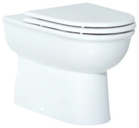 all in one toilet seat. Pelin Back To Wall All In One Combined Bidet Toilet With Soft Close Seat  Toilets