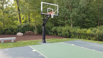 Custom Residential Basketball Courts