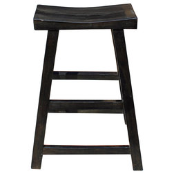 Transitional Bar Stools And Counter Stools by Golden Lotus Antiques