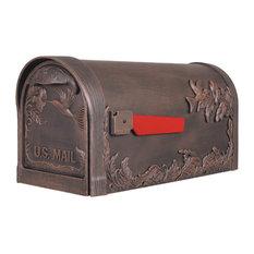 Hummingbird Curbside Mailbox, Copper