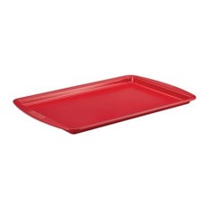 "SilverStone 11""x17"" Cookie Pan, Red"