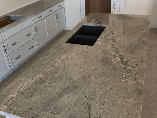 My Himalaya White Granite Counters Have Been Installed