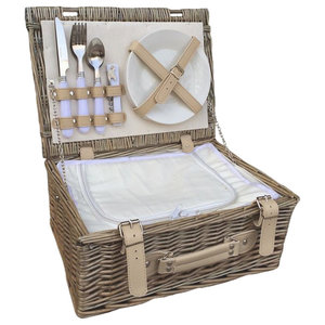 Fitted Picnic Basket With Chiller, 35 cm