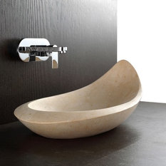 Great Komo   Natural Limestone Bath Sink   Bathroom Basins Part 7