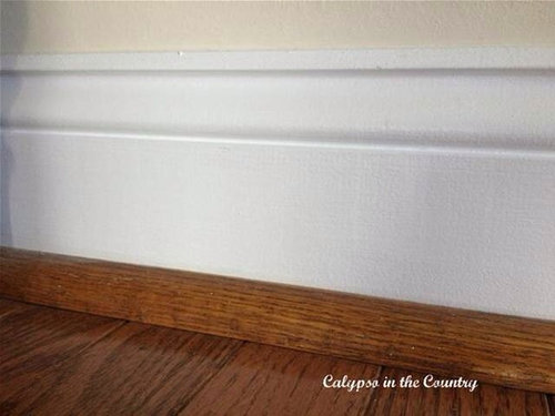 Painted Or Stained Shoe Molding For
