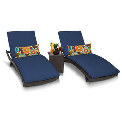 Tropical Outdoor Chaise Lounges by Burroughs Hardwoods Inc.