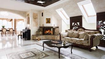 Дом в Дворцово-замковой стилистике