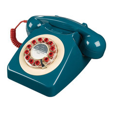 Wild & Wolf - Wild and Wolf 746 Phone, Petrol Blue - Home Electronics