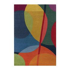 """Bense Contemporary Area Rug, 7'9""""x10'6"""" Rectangle"""