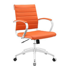 orange office furniture. orange leather office chairs houzz furniture m