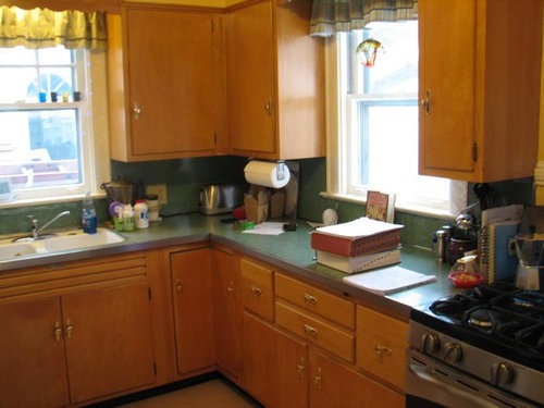 Painting 1950S Kitchen Cabinets