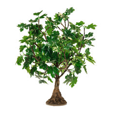LED Green Maple Tree, Warm White LED