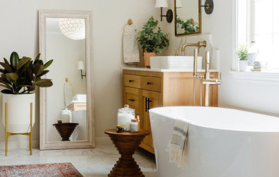 Bathroom of the Week: Fresh Update With Mediterranean Touches