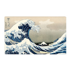 Home Creative 50-Inch TV Cloth Decorative Dustproof Cover, Wave