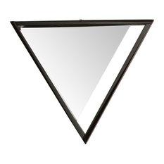 Nordi Furniture Time Mirror Triangle Wall Mirrors