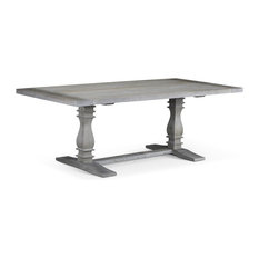 1st Avenue - Hastings Traditional Trestle Dining Table - Dining Tables