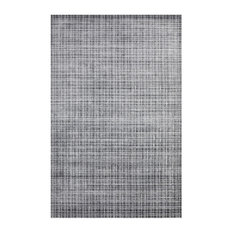 Wesley, Contemporary Modern Hand Loomed Area Rug, Charcoal