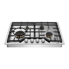 Robam 20,000 BTU Cooktop with Brass Burners, 30, 4 Burners